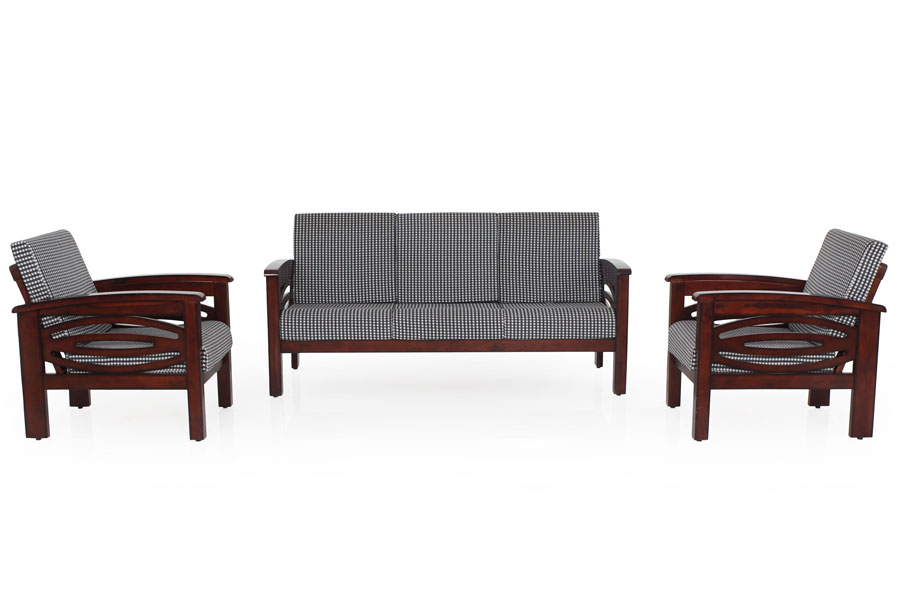 Emerald Wooden Sofa 3 1 1 Set Modfurn South India S Largest