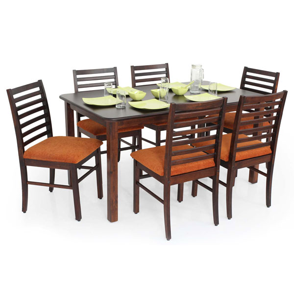 georgia 6 seater dining set – modfurn – south india's largest 6 Seater Dining Table