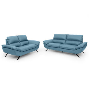 Sion Leather Sofa Set